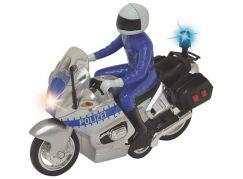 Dickie Policejní motocykl 15 cm s jezdcem