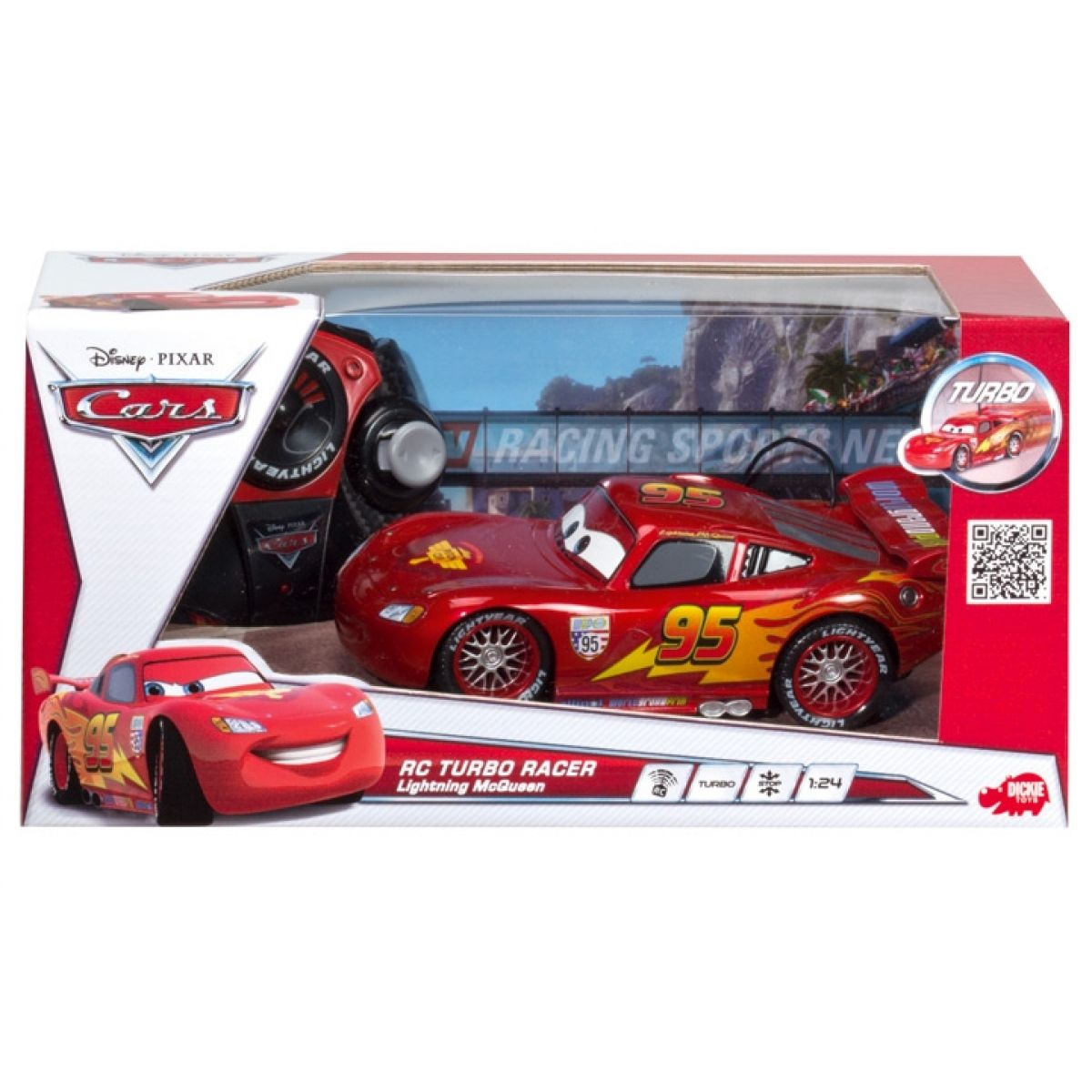 Dickie RC Auto Cars Blesk McQueen 1:24 #2