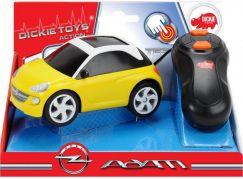 Dickie RC Auto Opel Adam na kabel žlutý