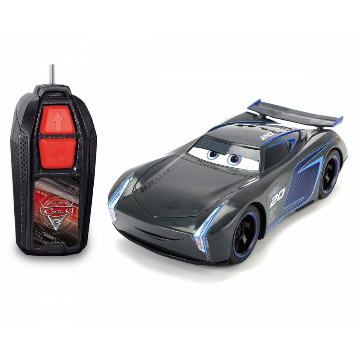 Dickie RC Cars 3 Jackson Hrom Single Drive 1:32