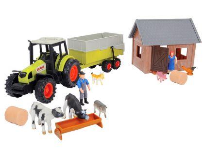 Dickie Sada farma s traktorem