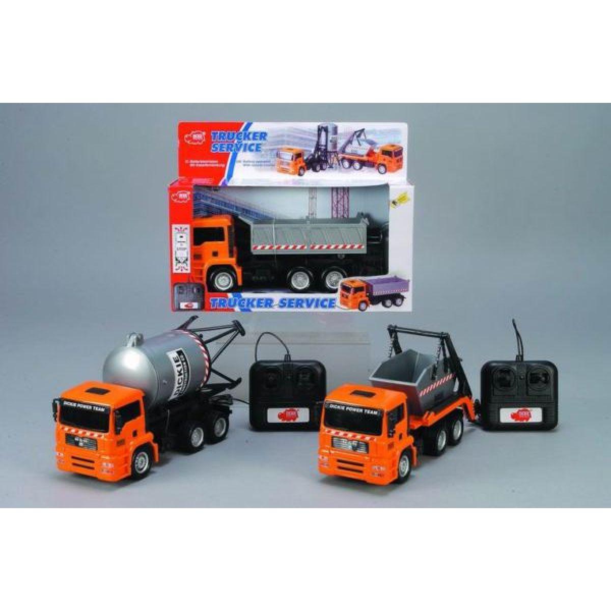 Dickie spielzeug Auto Trucker Service, 28cm Simba
