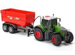 Dickie Traktor Fendt 939 Vario s přívěsem Fliegl se zvuky a světly