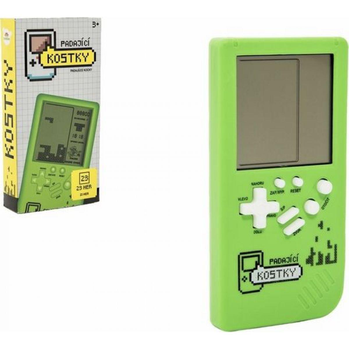Digitální hra Padající kostky Tetris hlavolam