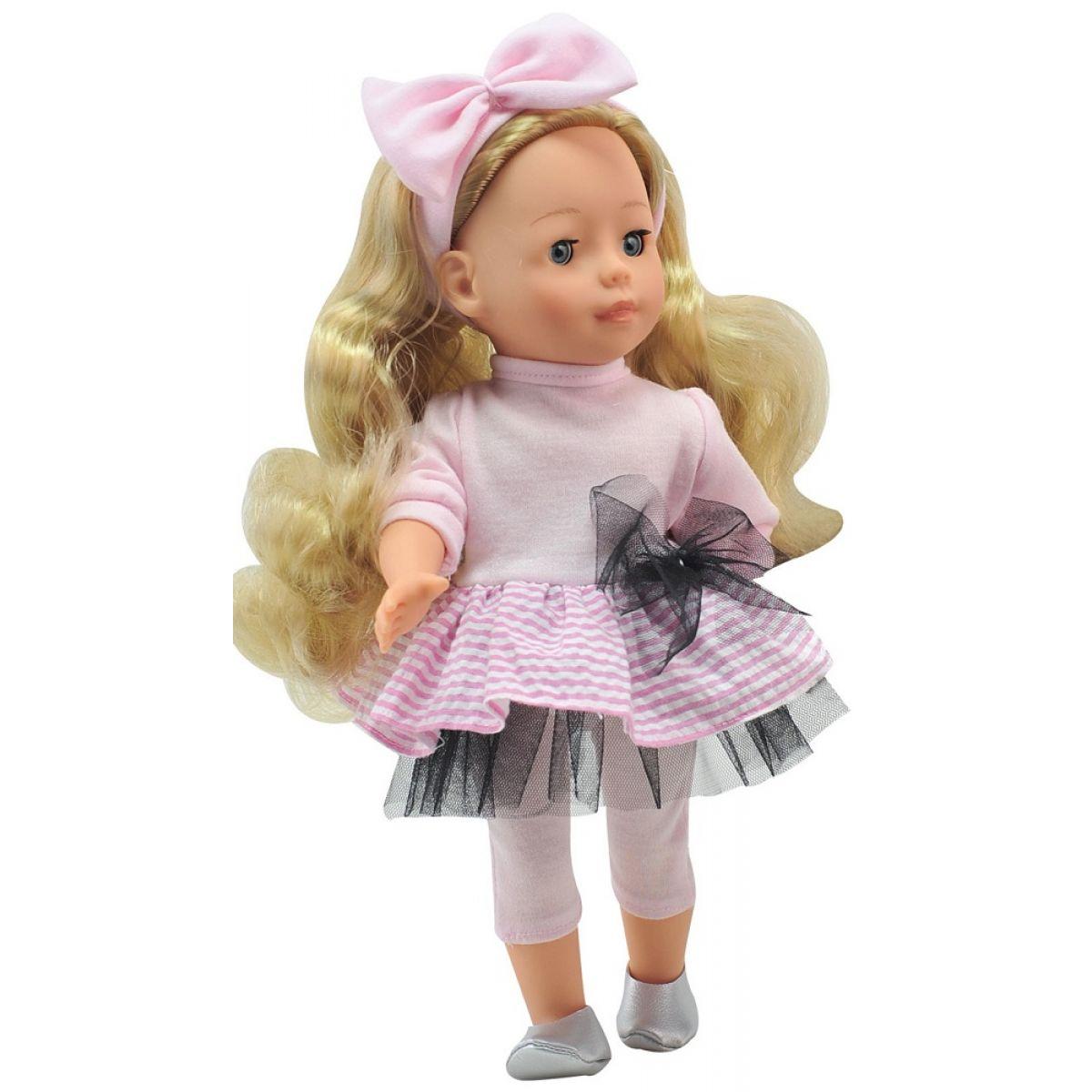 Dimian Bambolina Panenka Molly - Pruhované šaty
