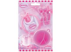 Dimian Doplňky pro panenky Bambolina nádobí