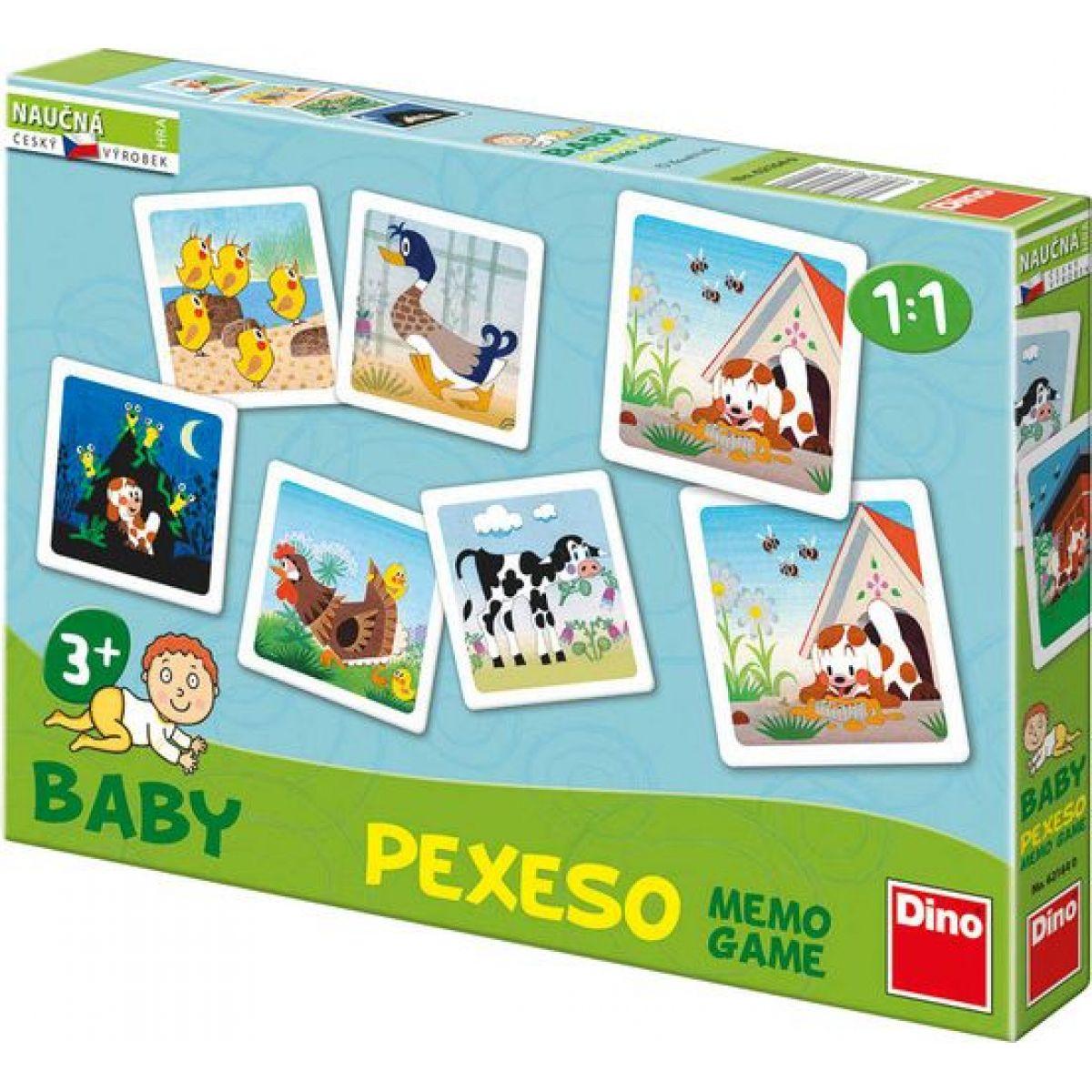 Dino Baby Pexeso Štěňátko