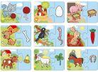 Dino Baby puzzle Zvířátka 9x2ks 2