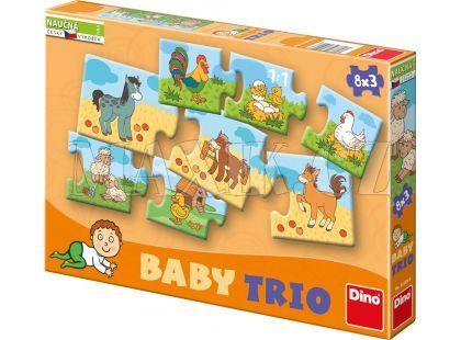 Dino Baby Trio rodina 24 dílků