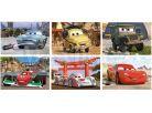 Dino Cars Dřevěné kostky Auta ve světě 6ks 2
