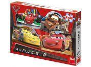 Dino Cars Puzzle Auta 2 4x54dílků