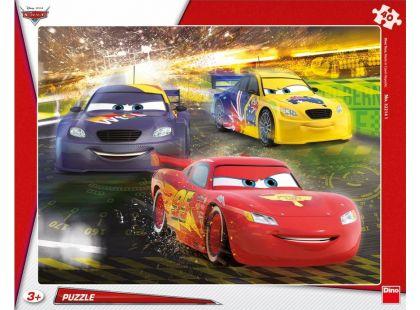 Dino Cars Puzzle deskové Auta: Velké vítězství 40dílků
