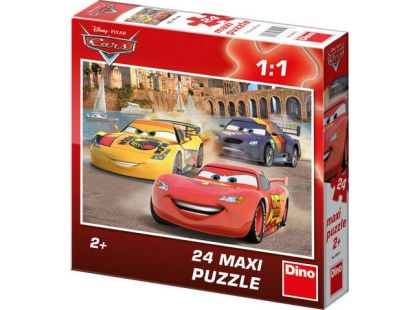 Dino Cars Puzzle Maxi Veselý Blesk 24dílků