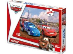 Dino Cars v Paříži 300 XL dílků puzzle