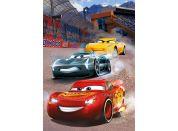 Dino Cars vítězné kolo 100 dílků XL neon puzzle