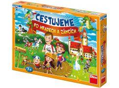 Dino Cestujeme po hradech a zámcích společenská hra