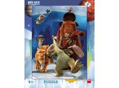 Dino deskové puzzle Doba Ledová 5 Úprk 40 dílků