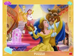 Dino deskové puzzle Kráska a Zvíře 40 dílků