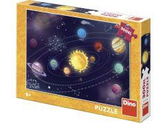 Dino Dětská sluneční soustava 300 dílků XL puzzle