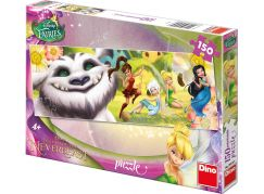Dino Disney Fairies Puzzle Panoramic Víly a Raf 150dílků