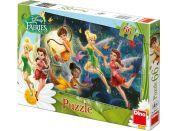 Dino Disney Fairies Puzzle Tanec s motýly 66dílků