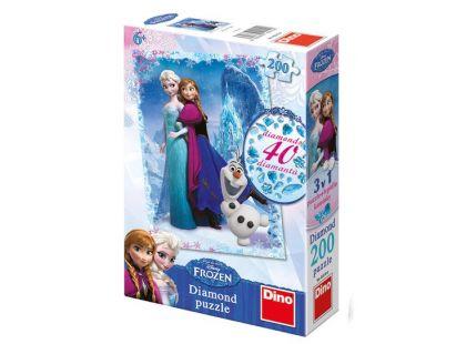 Dino Disney Frozen Diamond puzzle 200dílků