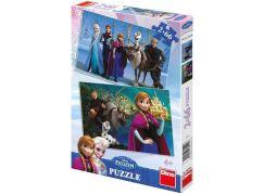 Dino Disney Frozen Puzzle Ledové královsví 2x66dílků