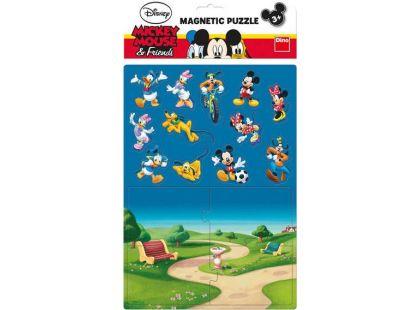 Dino Disney Magnetické Puzzle Mickey 16dílků