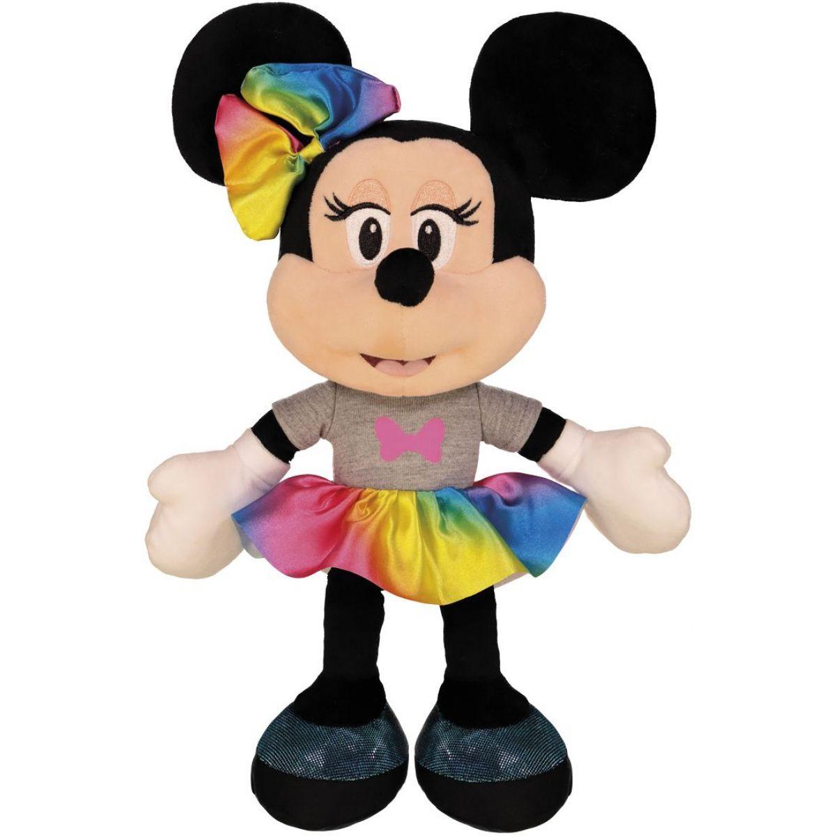 Dino Disney Minnie duhová sukně 25 cm plyš