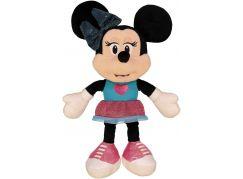 Dino Disney Minnie modro-růžové šaty 25 cm plyš