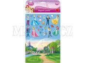Dino Disney Princess Magnetické Puzzle Princezny 24dílků