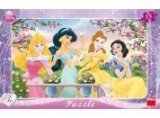Dino Disney Princess Puzzle deskové Princezny 15dílků