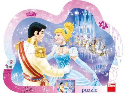 Dino Disney Princess Puzzle deskové Zamilovaná Popelka 25dílků