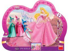 Dino Disney Princess Puzzle deskové Šípková Růženka 25dílků