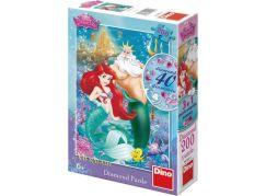 Dino Disney Princess Puzzle Diamond Ariel 200 dílků