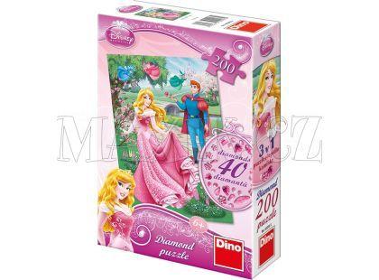 Dino Disney Princess Puzzle Diamond Růženka 200dílků