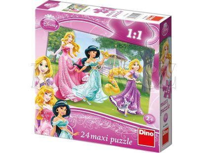 Dino Disney Princess Puzzle Maxi Princezny 24dílků