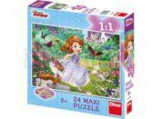Dino Disney Princess Puzzle Maxi Sofie v parku 24dílků