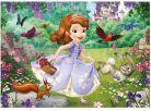 Dino Disney Princess Puzzle Maxi Sofie v parku 24dílků 2