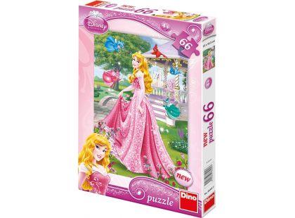 Dino Disney Princess Puzzle Šípková Růženka 66dílků