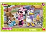 Dino Disney Puzzle deskové Minnie na Montmartru 15dílků