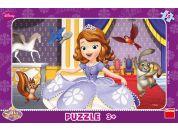 Dino Disney Puzzle deskové Sofia I. 15dílků
