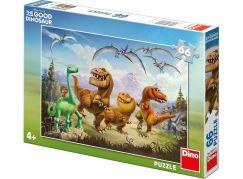 Dino Disney Puzzle Hodný Dinosaurus Arlo a kamarádi 66 dílků
