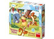 Dino Disney Puzzle Maxi Medvídek Pú a kamarádi 24dílků