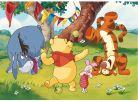 Dino Disney Puzzle Maxi Medvídek Pú a kamarádi 24dílků 2