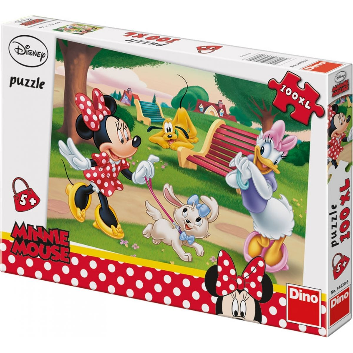 Dino Disney Puzzle Minnie 100XL dílků