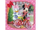 Dino Disney Puzzle Minnie na návštěvě 3x55dílků 4