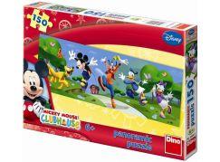 Dino Disney puzzle panoramic Mickyho klubík Hurá 150d