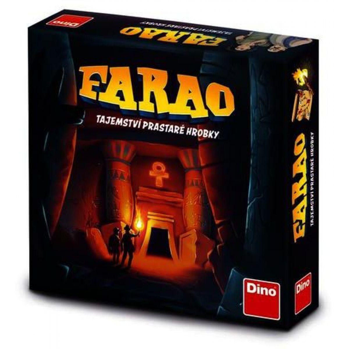 Dino Farao tajemství prastaré hrobky rodinná hra