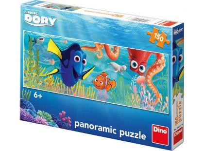 Dino Hledá se Dory Puzzle Panoramic Dory na cestách 150dílků